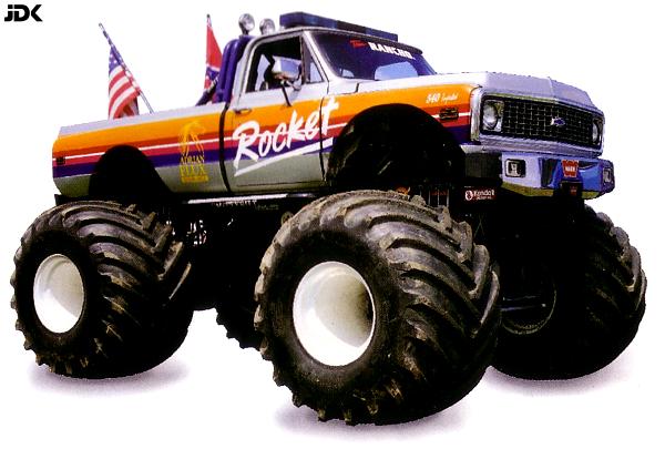 monster truck bilder